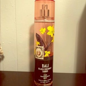 Bali coconut sand body spray bath and body works